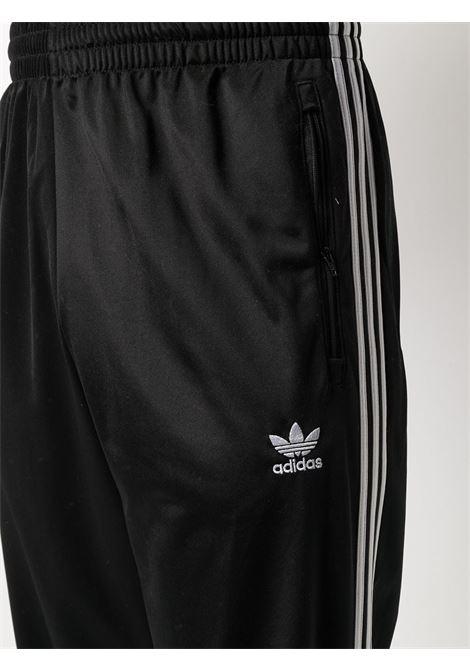 pantaloni sportivi uomo neri in poliestere riciclato ADIDAS | Pantaloni | GN3517BLACK