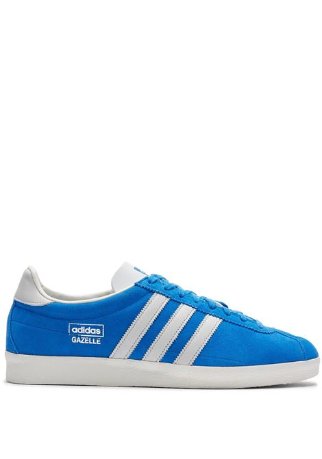 sneakers gazelle vintage uomo azzurre in pelle ADIDAS | Sneakers | H02897BLUEBIRD