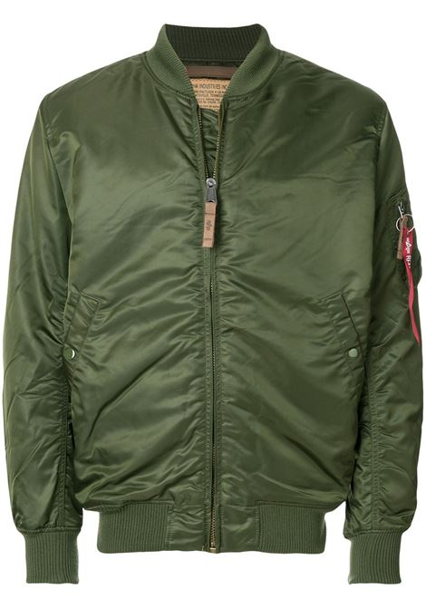 ma1 vf 59 long jacket man green ALPHA INDUSTRIES | Jackets | 168100257