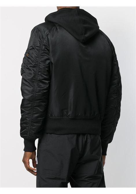 giacca ma1 d-tec uomo nera ALPHA INDUSTRIES | Giacche | 183110515