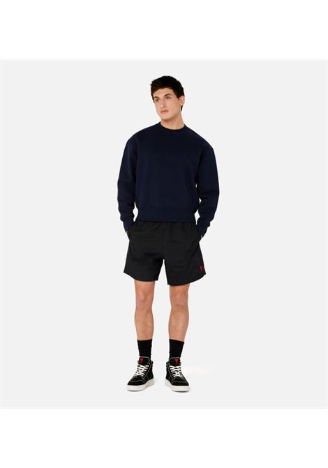 Swimsuit Black Man AMI - ALEXANDRE MATTIUSSI   Swimwear   A21HBW03.393001