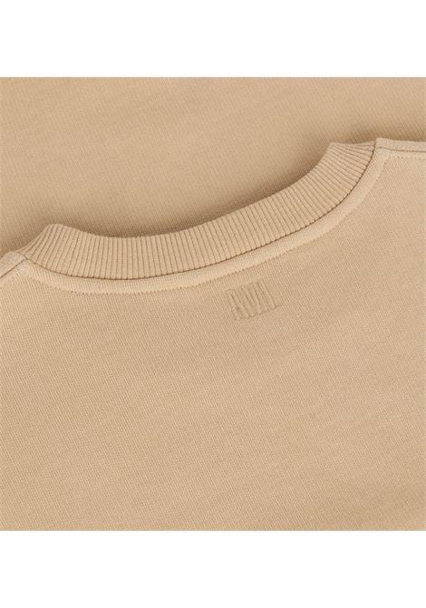 Felpa ami de coeur Beige in Cotton Man AMI - ALEXANDRE MATTIUSSI | Felpe | A21HJ028.747250