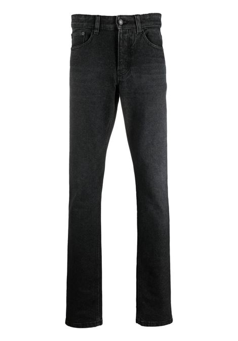 jeans stretti uomo neri in jersey AMI - ALEXANDRE MATTIUSSI | Jeans | H21HD001.611031