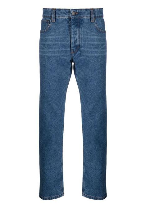 jeans dritti uomo denim AMI - ALEXANDRE MATTIUSSI | Jeans | H21HD002.601480