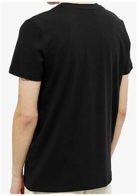t-shirt con logo uomo nera in cotone A.P.C.   T-shirt   COBQX-H26943LZZ