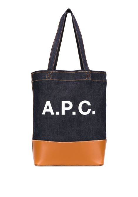 logo bag unisex denim A.P.C. | Bags | CODDP-M61444CAF