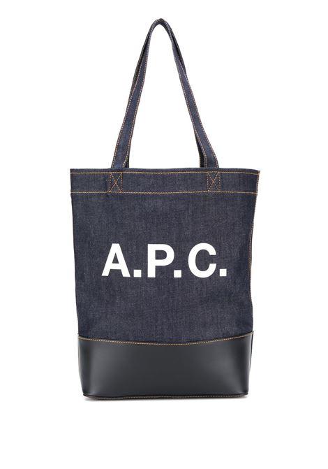 logo bag unisex denim A.P.C. | Bags | CODDP-M61444IAK