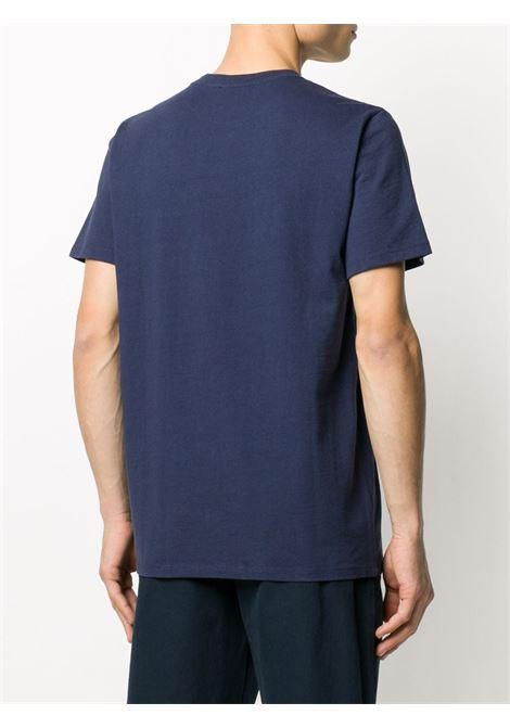 T-shirt con logo Blu in Cotone Uomo A.P.C. | T-shirt | COEAV-H26840IAK