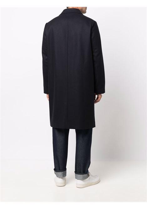 cappotto robin uomo blu scuro A.P.C.   Cappotti   WOAJS-H01456IAH