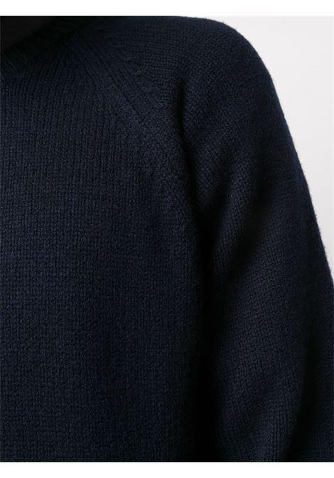 maglione in lana uomo blu scuro A.P.C. | Maglieria | WVAWI-H23964IAK