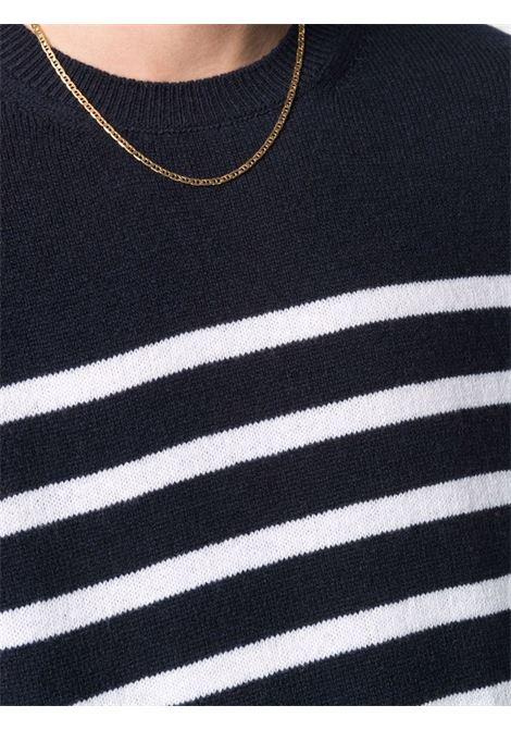 maglione travis a righe uomo blu A.P.C. | Maglieria | WVBAI-H23026IAK