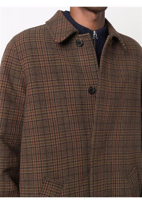 austin coat man brown in wool A.P.C. | Coats | WVBAY-H01460CAB