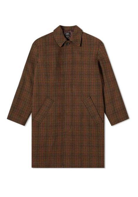 cappotto austin uomo marrone A.P.C.   Cappotti   WVBAY-H01460CAB