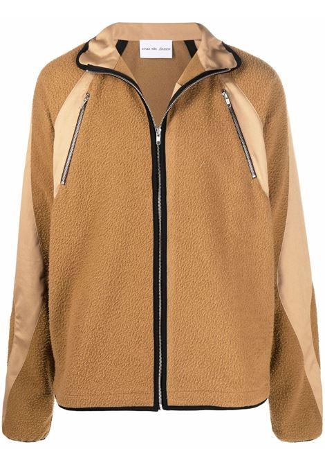 giacca in lana uomo marrone ARNAR MÁR JÓNSSON | Giacche | AW2112CARAMEL