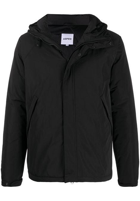 new wintermoon jacket man black in polyester ASPESI | Jackets | 0I19 G70301241
