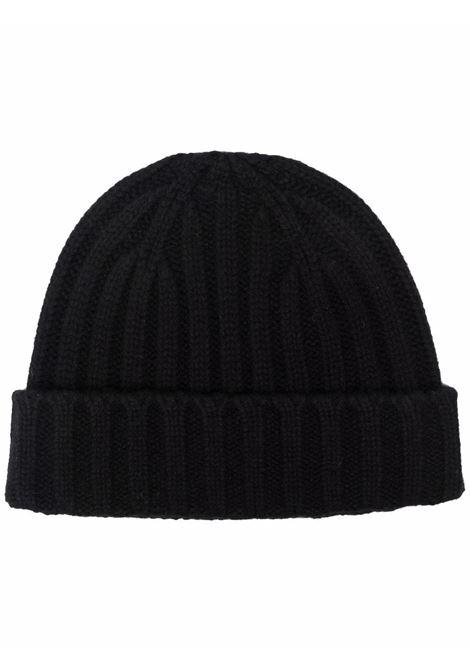 wool hat man black ASPESI | Hats | 1C01 396501241