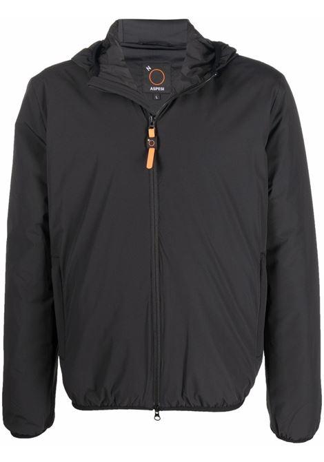 puccio comfort jacket man black ASPESI | Jackets | 1I01 L58901241