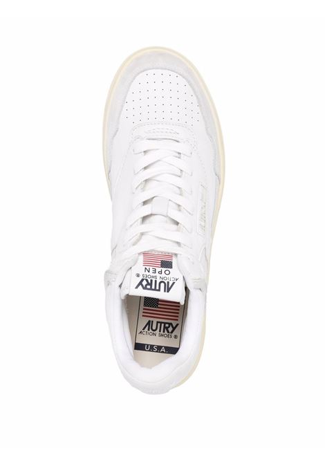aomm ce01 sneakers man white in leather AUTRY | Sneakers | AOMMCE01