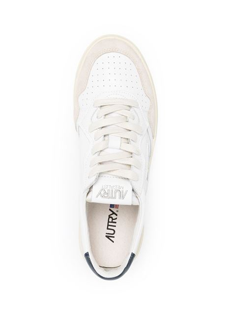 sneakers aulm ls28 uomo bianche in pelle AUTRY | Sneakers | AULMLS28