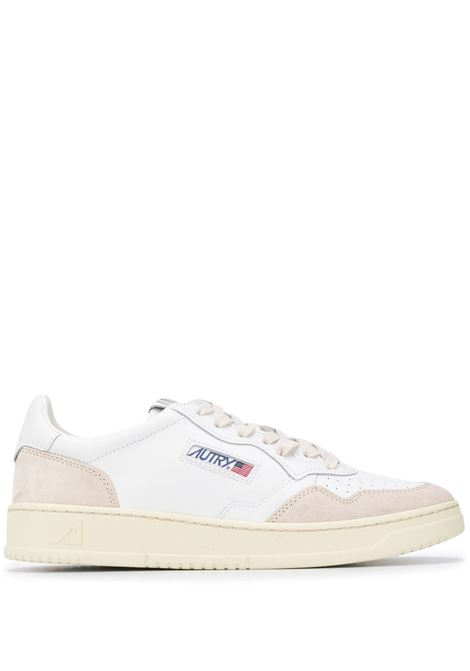 sneakers aulm ls33 uomo bianche in pelle AUTRY | Sneakers | AULMLS33