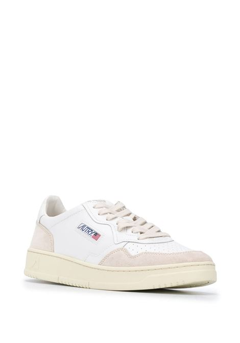 sneakers aulm ls33 uomo bianche in pelle AUTRY   Sneakers   AULMLS33