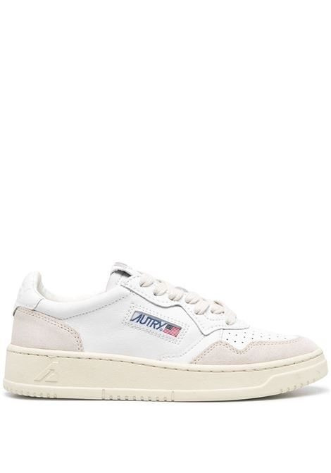 sneakers aulw ls33 donna bianche in pelle AUTRY | Sneakers | AULWLS33