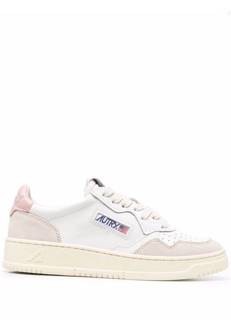 sneakers aulw ls37 donna bianche in pelle AUTRY | Sneakers | AULWLS37