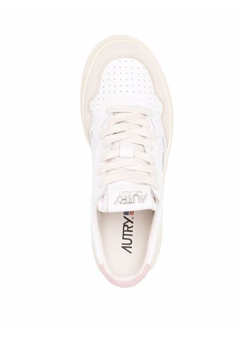 sneakers aulw ls37 woman white in leather AUTRY   Sneakers   AULWLS37