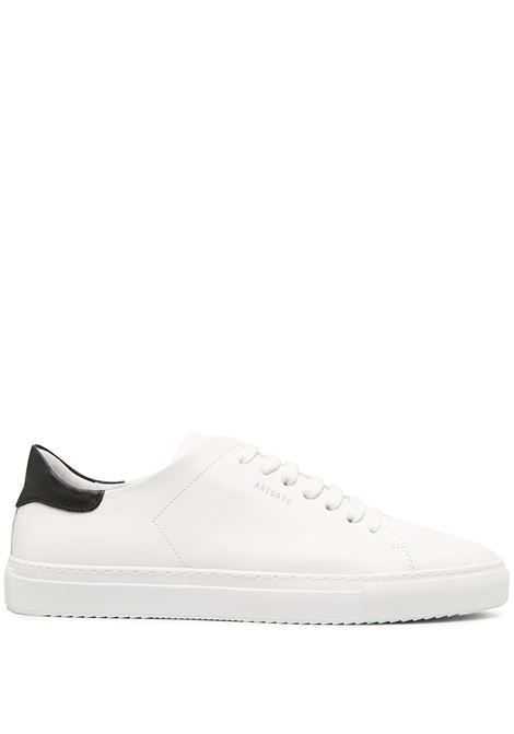 sneakers clean 90 contrast uomo bianche in pelle AXEL ARIGATO | Sneakers | 28624WHITE/BLACK