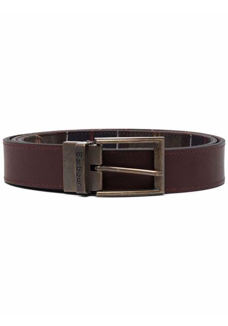 reversible belt man brown in leather BARBOUR | Belts | MAC0364TN11
