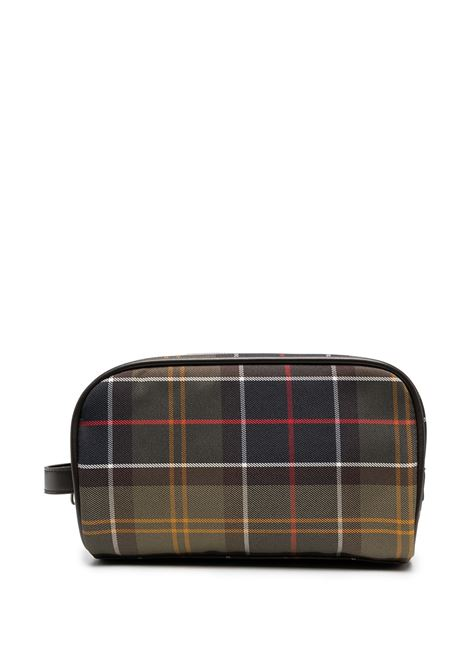 trousse tartan unisex multicolore in poliestere BARBOUR | Borse | MAC0396TN11