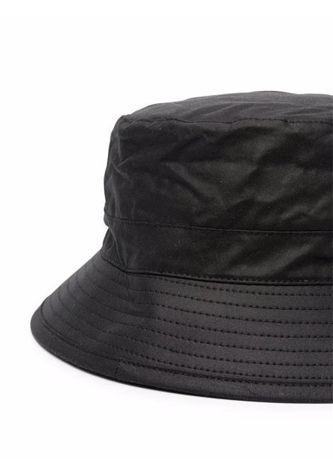 bucket hat man black in cotton BARBOUR | Hats | MHA0001BK91