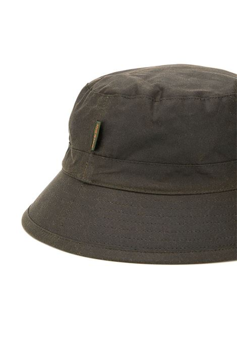 bucket hat man olive in cotton BARBOUR | Hats | MHA0001OL71