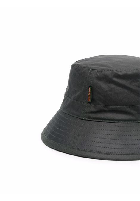 bucket hat man black in cotton BARBOUR | Hats | MHA0001SG91