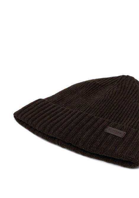 carloton hat man black BARBOUR | Hats | MHA0449GN91
