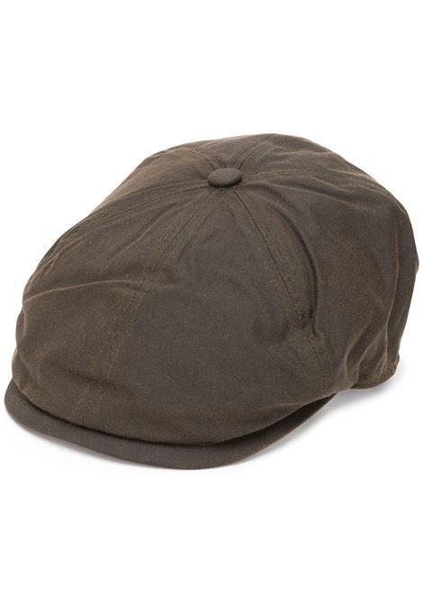 portland hat man brown in cotton BARBOUR | Hats | MHA0566OL71