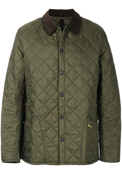 giacca trapuntata uomo verde BARBOUR | Giacche | MQU0240OL71