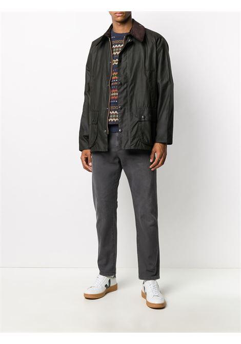 bedale jacket man black in cotton BARBOUR | Jackets | MWX0010OL71