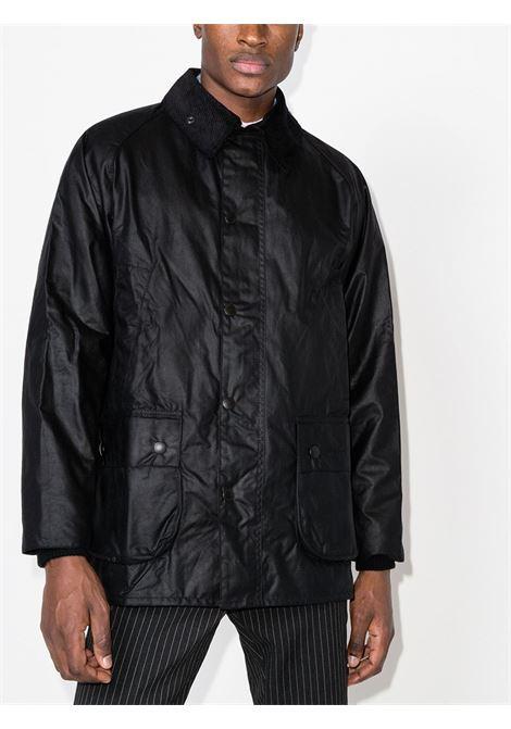 bedale jacket man black in cotton BARBOUR | Jackets | MWX0018BK91