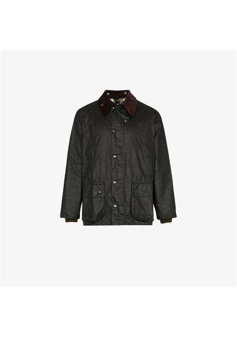 bedale jacket man black in cotton BARBOUR | Jackets | MWX0018SG91