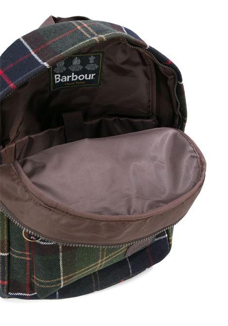 carrbridge backbag unisex tartan BARBOUR | Backpack | UBA0421TN11