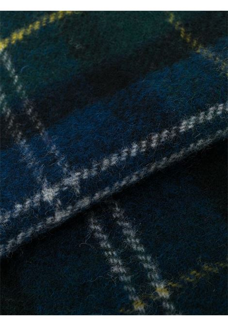 checked scarf unisex blue in wool BARBOUR |  | USC0001GN91