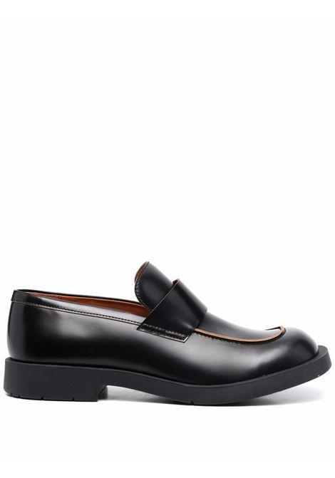 loafer 1978 man black in leather CAMPER LAB | Laced Shoes | K100763001