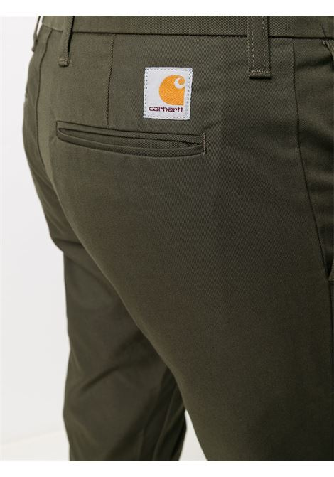 sid pant man brown in cotton CARHARTT WIP | Trousers | I00336763.02