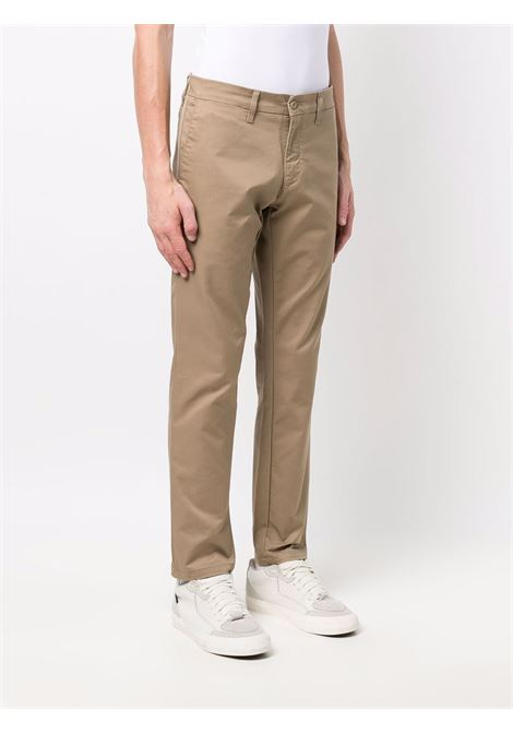 pantaloni sid uomo marroni in cotone CARHARTT WIP | Pantaloni | I0033678Y.02