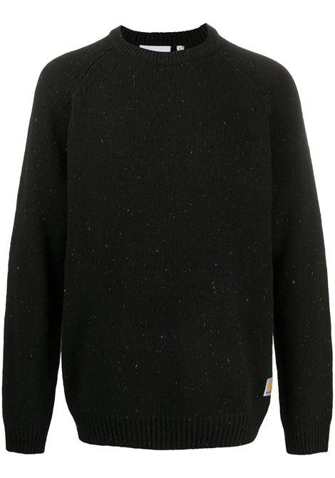 maglione anglistic uomo nero CARHARTT WIP | Maglieria | I0109770JE.XX