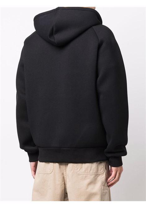 felpa con cappuccio uomo nera in cotone CARHARTT WIP | Felpe | I0180440GL.XX