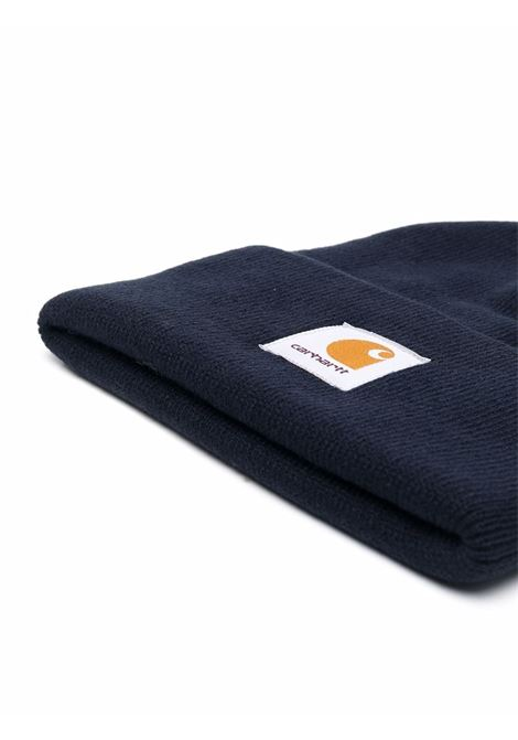 logo hat unisex blue navy CARHARTT WIP | Hats | I0202221C.XX