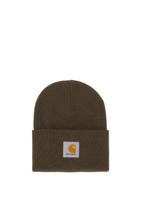 logo hat man brown CARHARTT WIP | Hats | I02022263.XX