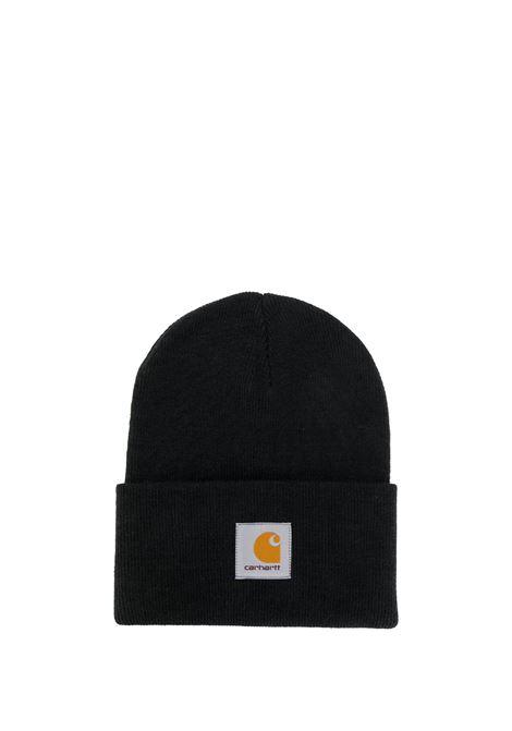 logo hat man black  CARHARTT WIP | Hats | I02022289.XX